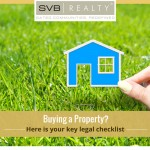 checklist before buying a property