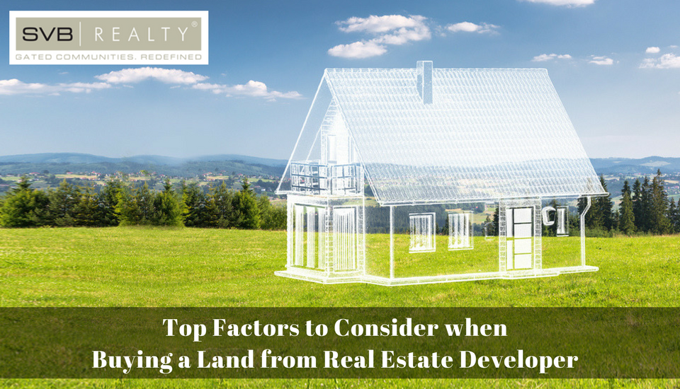 Top Factors to Consider when Buying Land from The Developer