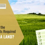 What are the documents required to buy a land